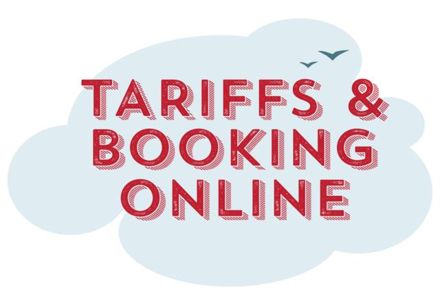 Tariffs & Booking